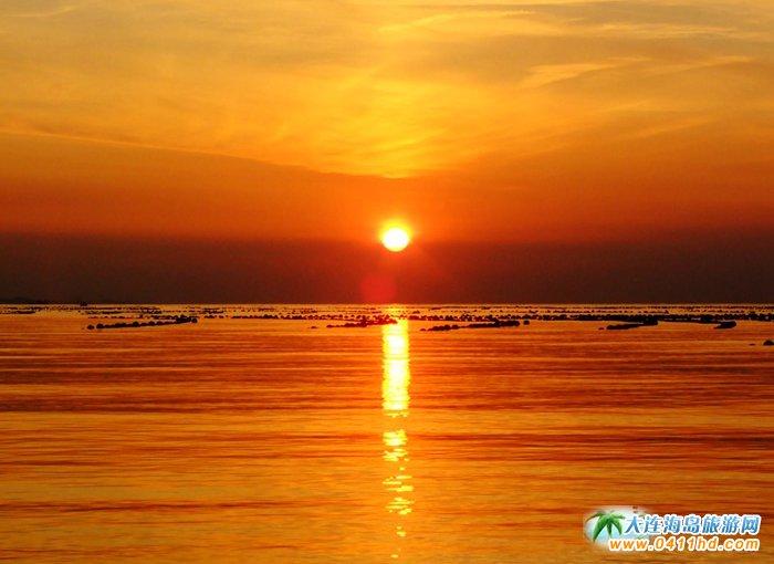 金光海色――大连海洋岛夕阳图片5