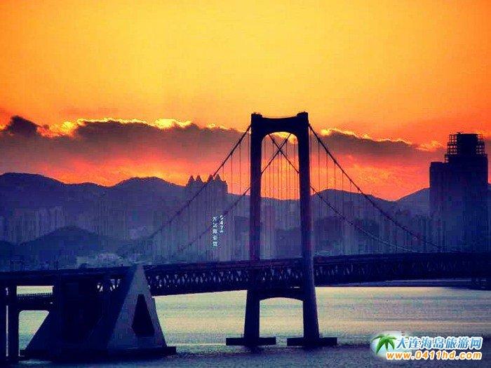 大连旅游美图-大连跨海大桥