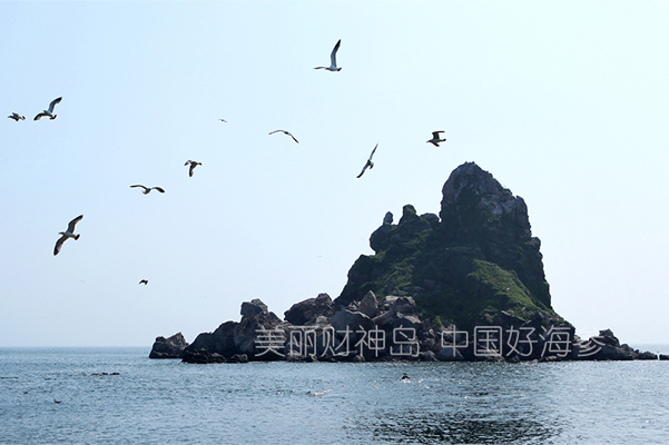 财神岛世外桃源般的风景