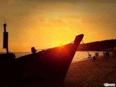 西中岛海边的黄昏,想这样一直待