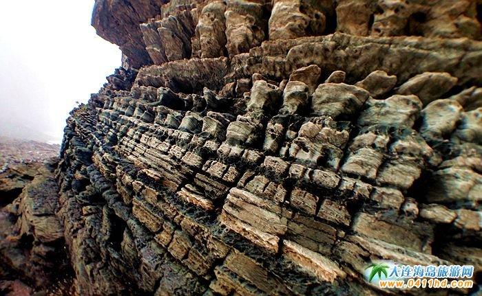 石城岛图片――神奇的龙脊礁1