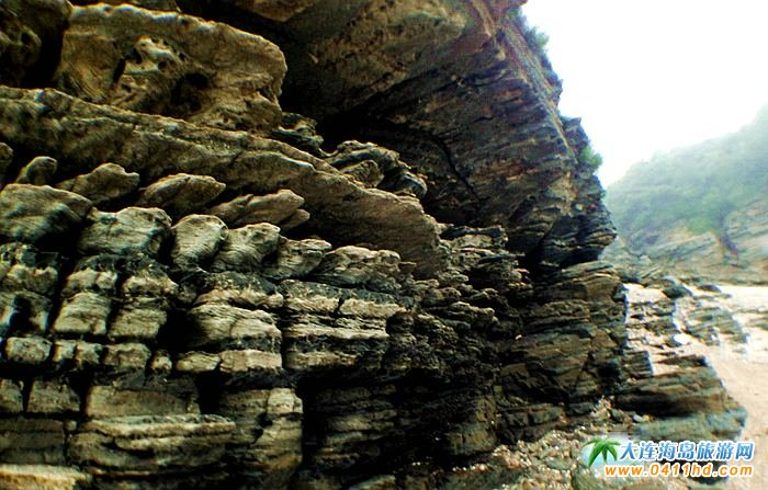 石城岛图片――神奇的龙脊礁3
