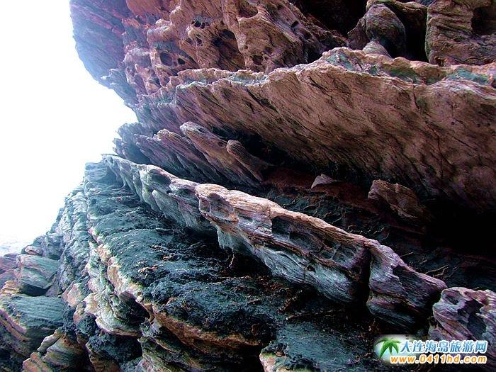 石城岛图片――神奇的龙脊礁11
