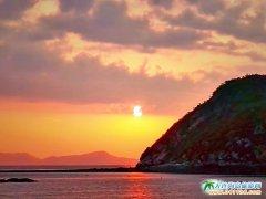 塞里岛日出图片―祥和之光总的渔家小岛