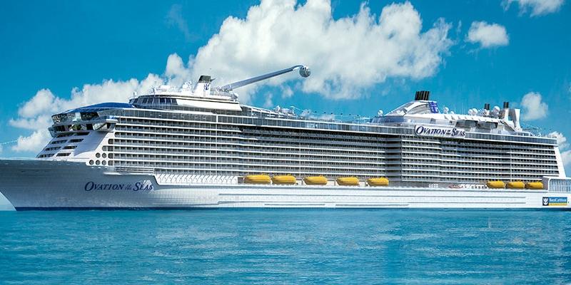 皇家加勒比游轮海洋赞礼号高清图片