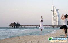 迪拜海滩、海滩俱乐部和热门海滨
