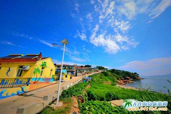 美丽獐子岛,海上桃源山1