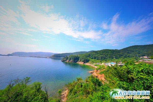 美丽獐子岛,海上桃源山3
