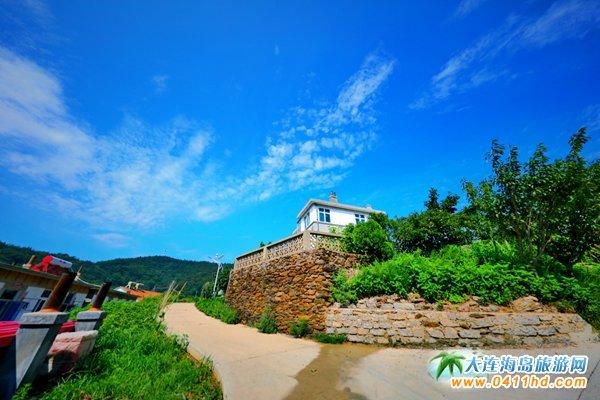 美丽獐子岛,海上桃源山4
