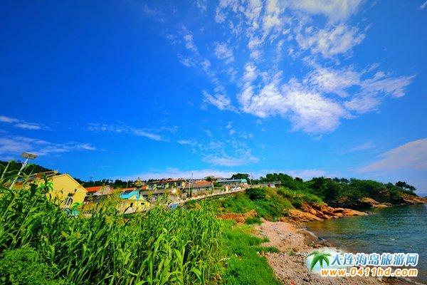 美丽獐子岛,海上桃源山8