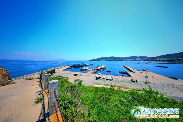 美丽獐子岛,海上桃源山20