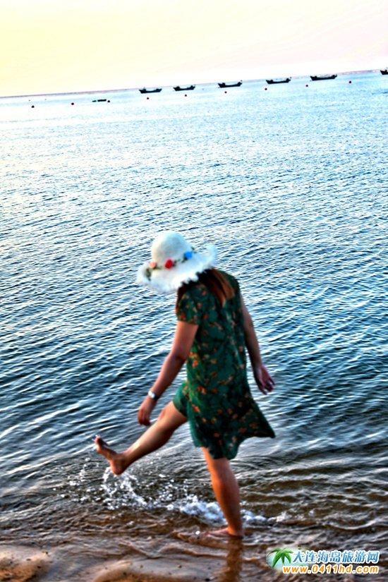 獐子岛金沙碧海浴场