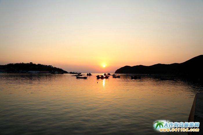 2017年海洋岛开渔节的那一轮夕阳1
