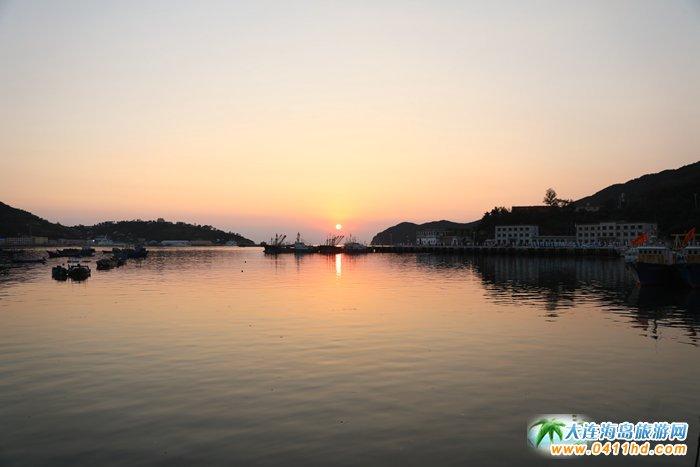 2017年海洋岛开渔节的那一轮夕阳3