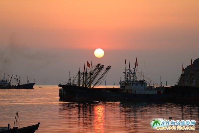 2017年海洋岛开渔节的那一轮夕阳4