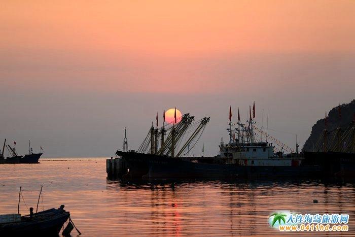 2017年海洋岛开渔节的那一轮夕阳6