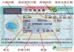 日本自由行签证攻略――实用走遍日本