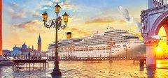 2019年5月大连港始发歌诗达赛琳娜号邮轮―11.45万吨帝王级登陆大