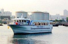 獐子岛旅游观光游船远销菲律宾