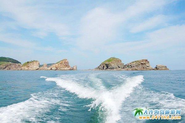 哈仙岛五虎石