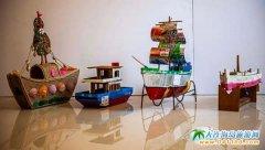 """第二十一届渔民节""""渔俗记忆""""艺术品创作大赛作品展示(手工艺术"""