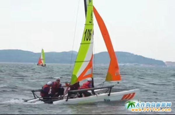 """""""海山岛杯""""大连市高校帆船联盟锦标赛"""