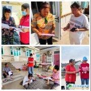 瓜皮岛为居民升级安装燃气设备